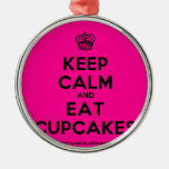 [Cupcake] keep calm and eat cupcakes  Ornaments