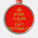 [Crown] keep calm and eat destinay♥  Ornaments