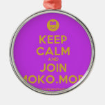[Smile] keep calm and join moko.mobi  Ornaments