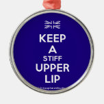 [UK Flag] keep a stiff upper lip  Ornaments