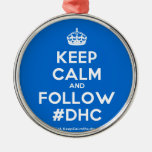 [Crown] keep calm and follow #dhc  Ornaments