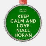 [UK Flag] keep calm and love niall horan  Ornaments
