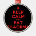 [Campfire] keep calm and eat shaorma  Ornaments