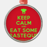 [Chef hat] keep calm and eat some pasteque  Ornaments