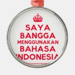 [Crown] saya bangga menggunakan bahasa indonesia  Ornaments