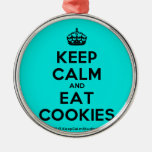 [Crown] keep calm and eat cookies  Ornaments