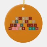 Happy  Periodic  Table Day Fellow Nerds  Ornaments