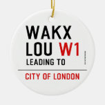 WAKX LOU  Ornaments