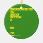 AEILNORSTU DG BCMP FHVWY K   JX  QZ  Ornaments