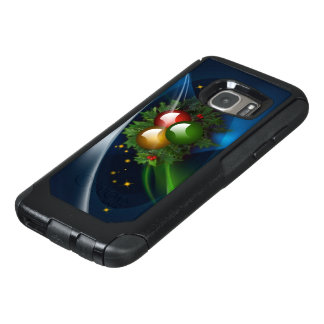 Ornaments and Holly OtterBox Samsung Galaxy S7 Case