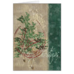 Ornaments and Snowflakes Greeting Cards
