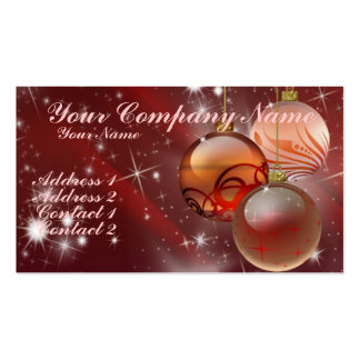 Ornaments and Stars Double-Sided Standard Business Cards (Pack Of 100)