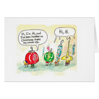 Ornaments Anonymous Greeting Card