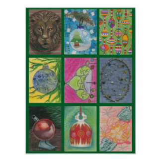 Ornaments by Multiple Artists Poster