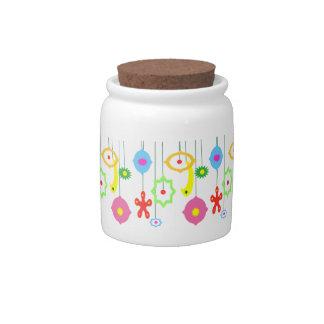 Ornaments Candy Jar