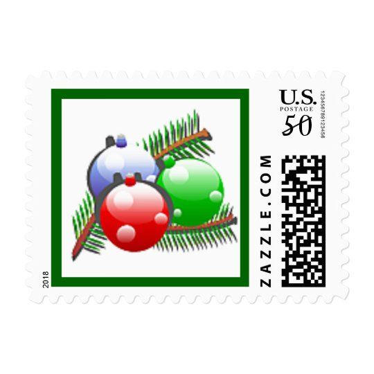 Ornaments Christmas Winter Postage Stamp