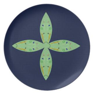 Ornaments. Design  t-shirts Melamine Plate