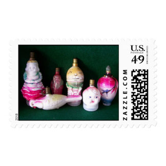 Ornaments of Old Postage
