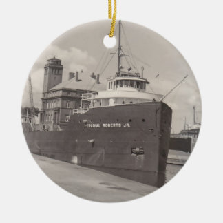 Ornaments Ore Freighter Vintage Soo Locks Michigan