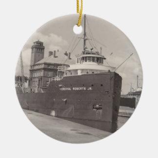 Ornaments Ore Freighter Vintage Soo Locks Michigan
