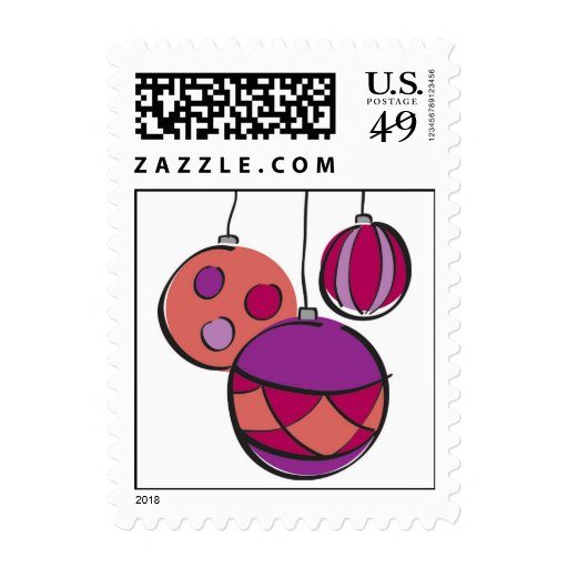 Ornaments Postage Stamp