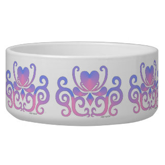 Ornaments Rainbow Heart and Lily Bowl