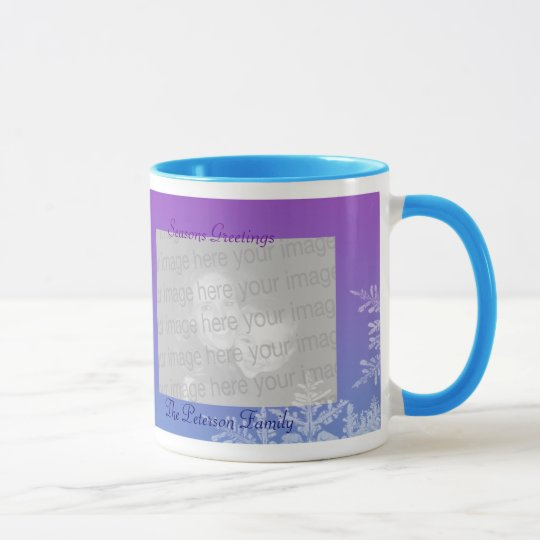 Ornaments & Snowflakes Holiday Mug