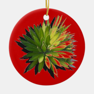 ORNAMNETS FOR HOLIDAYS FUN Double-Sided CERAMIC ROUND CHRISTMAS ORNAMENT