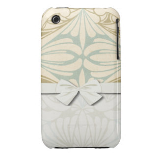 ornate art nouveau style abstract pattern Case-Mate iPhone 3 case