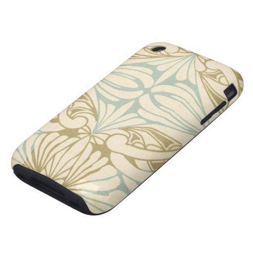 ornate art nouveau style abstract pattern iPhone 3 tough case