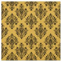 Ornate Baroque Damask pattern fabric
