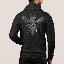 ornate bee hoodie