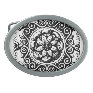 Ornate Belt Buckle
