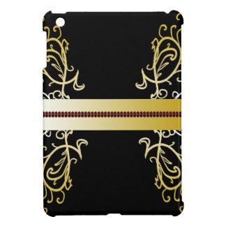 Ornate Black Gold Elegant Jeweled CricketDiane Case For The iPad Mini