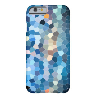 Ornate blue mosaic sample barely there iPhone 6 case