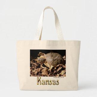 Ornate Box Turtle Tote Bags