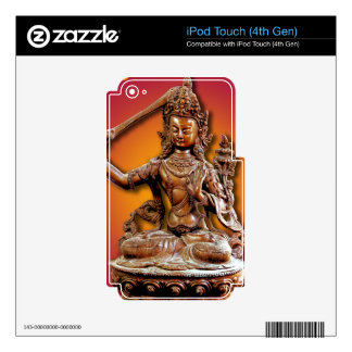 Ornate Buddhist Diety Manjushri iPod Touch 4G Decal