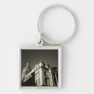 Ornate Centre Street Building Key Chain