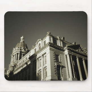Ornate Centre Street Building Mouse Pad
