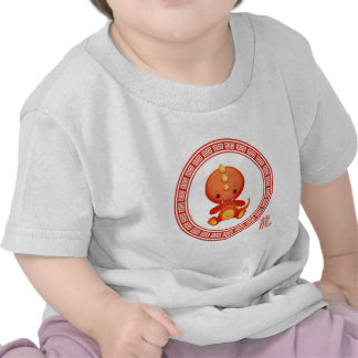 Ornate Chinese Year of the Dragon T-shirts