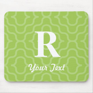 Ornate Contemporary Monogram - Letter R Mouse Pad