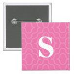 Ornate Contemporary Monogram - Letter S Pins