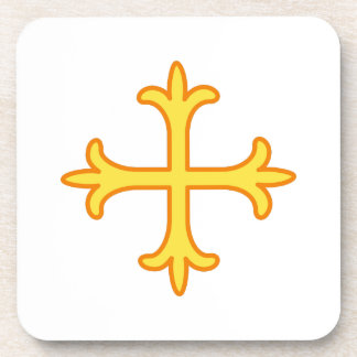 Ornate Cross Drink Coaster
