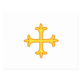 Ornate Cross Postcard