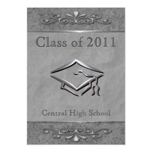 Ornate Customizable Graduation Invitations