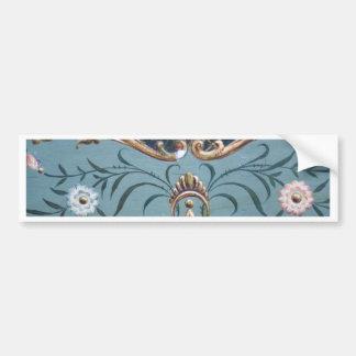 Ornate Design Bumper Sticker