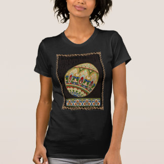 Ornate Easter Decorated Colored Painted Egg T-Shirt