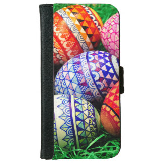 Ornate Easter Eggs iPhone 6/6s Wallet Case