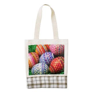 Ornate Easter Eggs Zazzle HEART Tote Bag