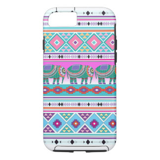 Ornate Elephant, Aztec Pattern, Cool iPhone 7 Case